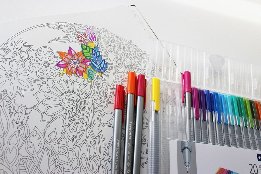 Coloring books aren\'t just kid stuff | The Columbian