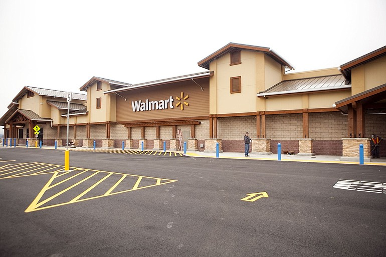 the walmart in woodland is set to open on wednesday