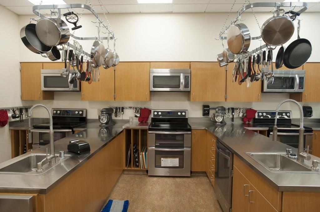 Classroom Kitchen Design ~ Woodland prepares state of the art high school campus