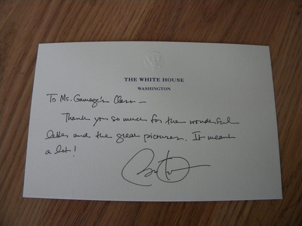 Vancouver teacher family visit the president the