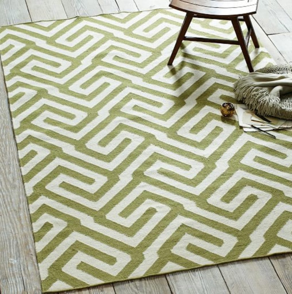 flatweave rug dhurrie runner products toulouse lattice grey