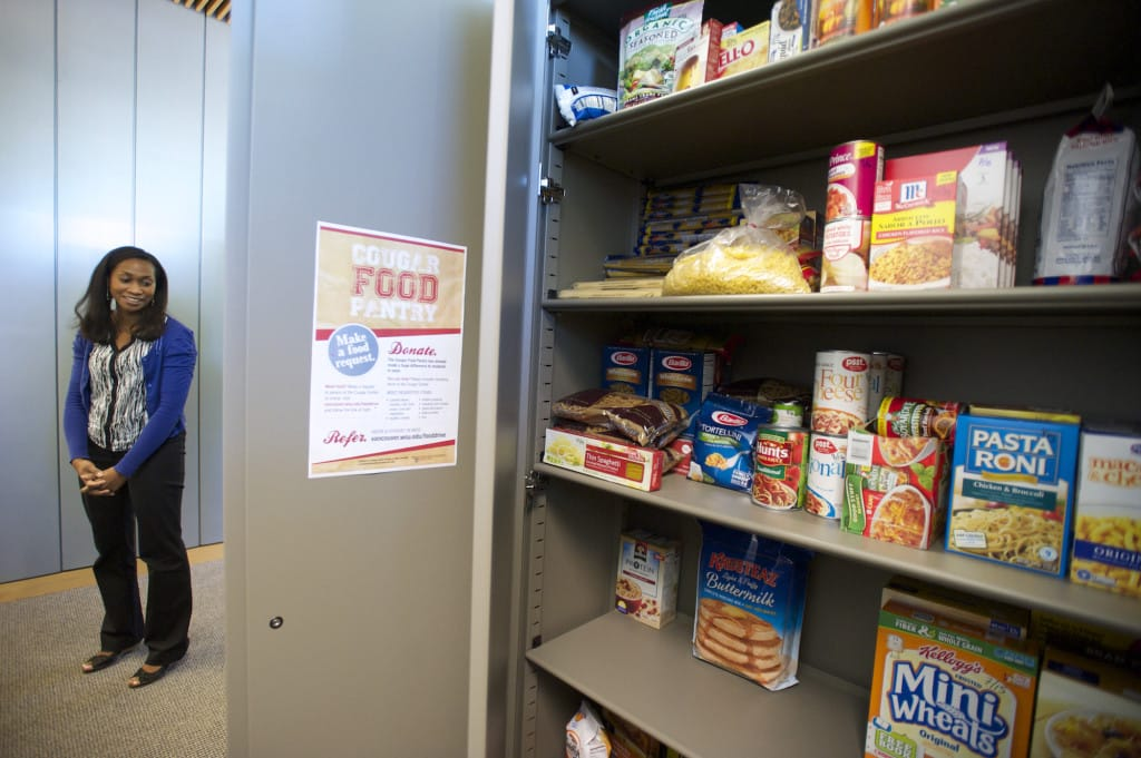Food Pantry Aids Hungry Wsuv Students The Columbian