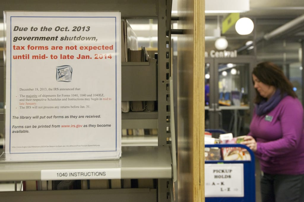 Vancouver Librarys Tax Forms Overdue The Columbian