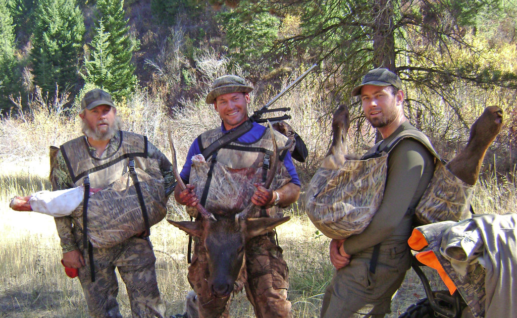 Elk-hunting family replaces pack frames with carrier-type bags | The ...
