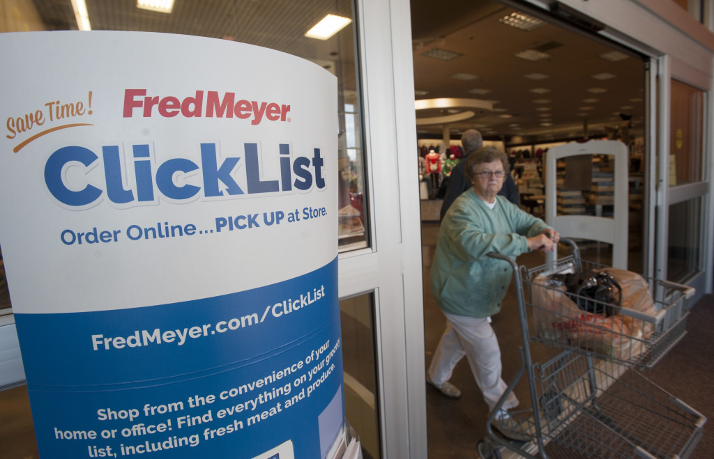 Fred Meyer Offers Online Shopping At Orchards Site