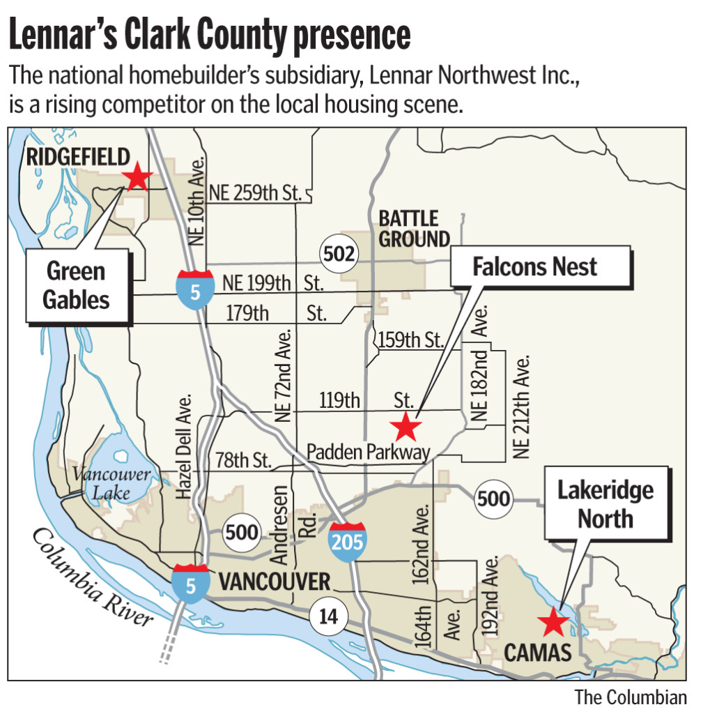 National homebuilder Lennar plans 140 homes in Clark County | The ...