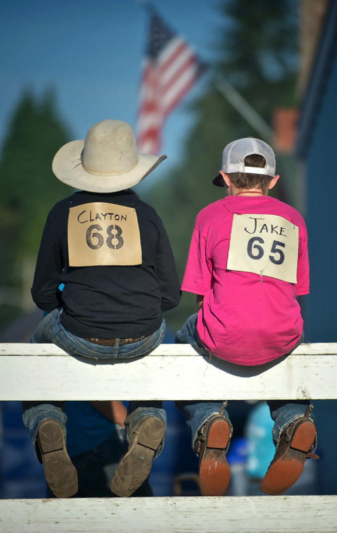 Bibles And Bull Riding At Clark County Rodeo Bible Camp