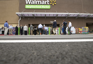 City of Vancouver officials, community members and representatives of Walmart attended a grand openi