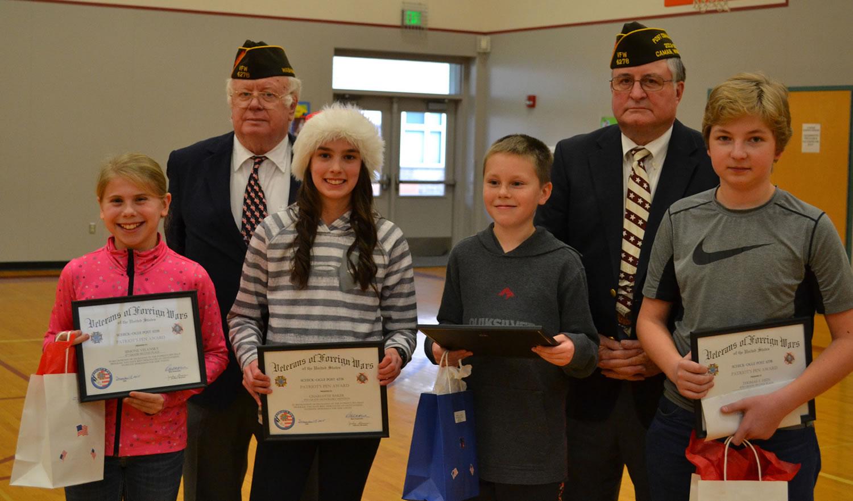 Veterans Day Essay Contest Winner