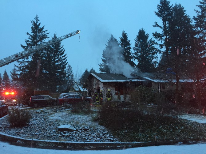 Woman critically injured in east vancouver house fire for Bonneville dam fish counts