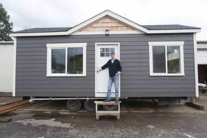 building momentum for tiny homes