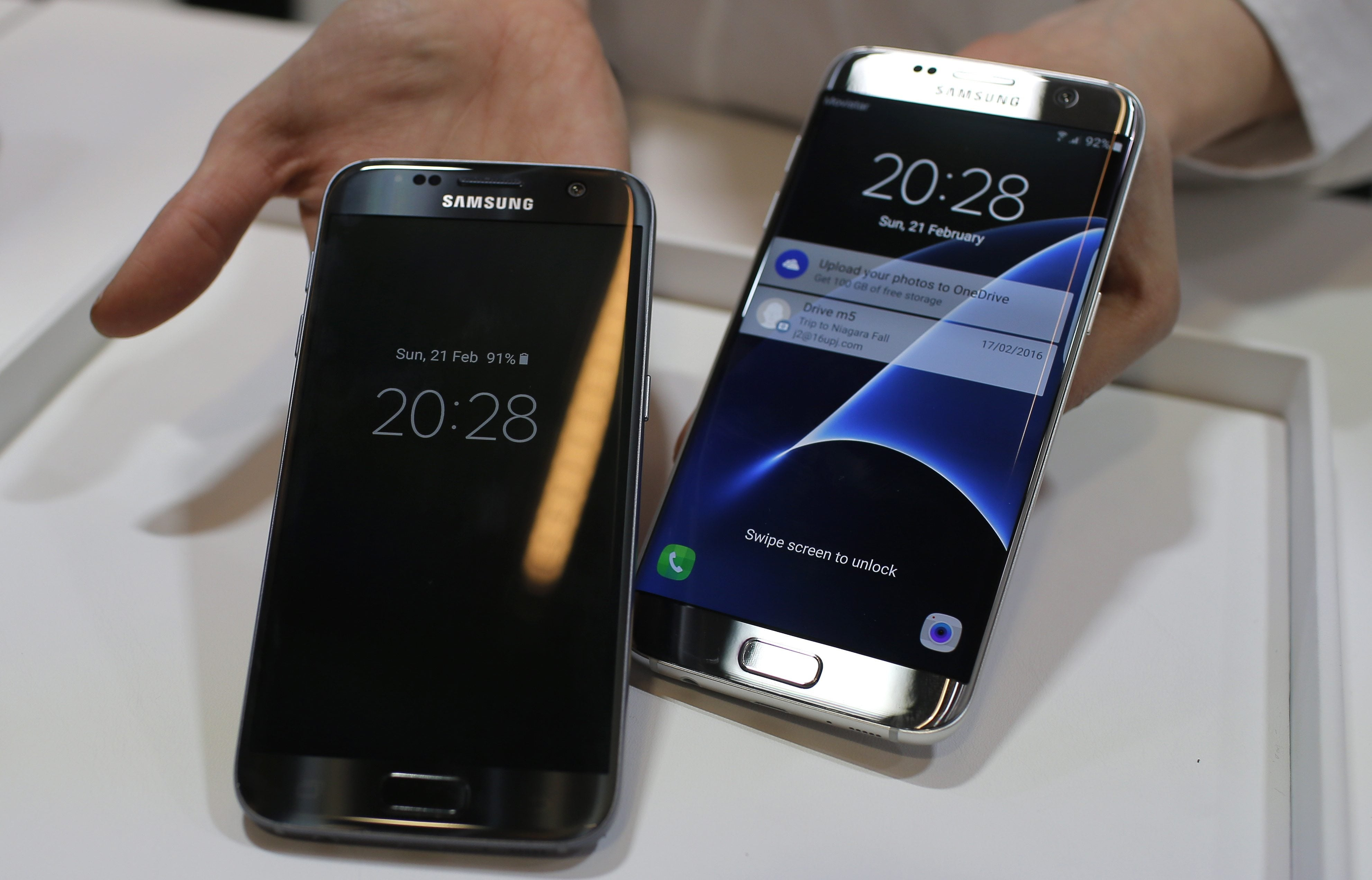 Galaxy S7 preodrers better than Galaxy S6's — Samsung