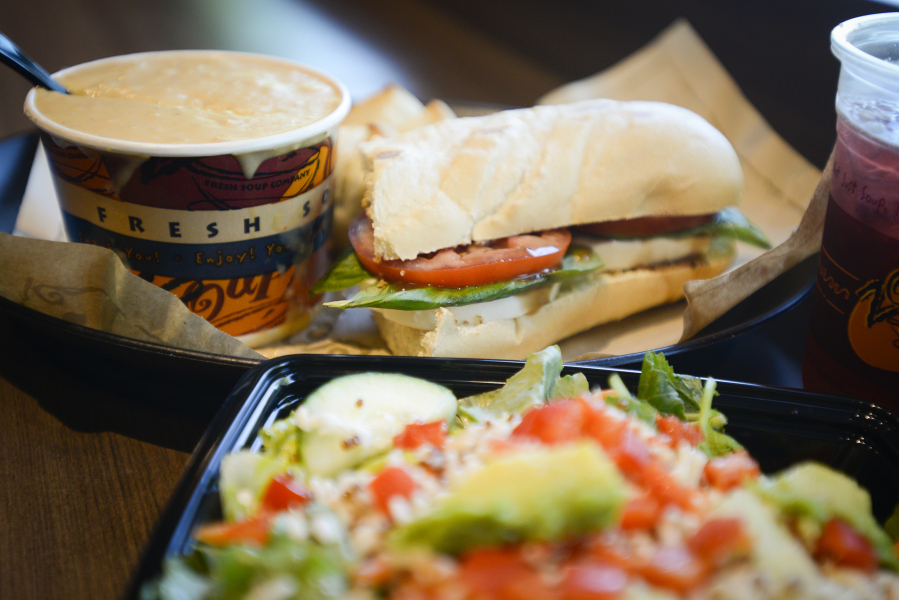 Zoup Nutritional Menu - Nutrition Ftempo