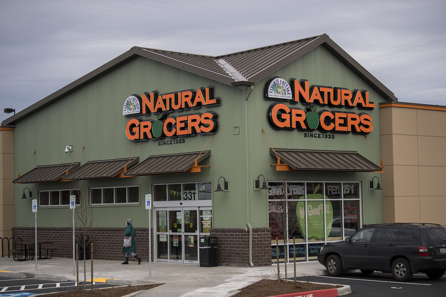 The New Natural Grocers Store Is Seen At Intersection Of Southeast 34th Street And 192nd Avenue On Tuesday Afternoon Opens Today