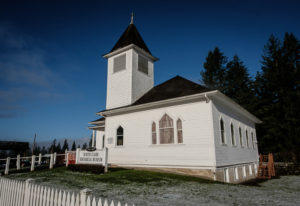 The North Clark Historical Museum is in the former Amboy United Brethren Church, built in 1910. (Jos
