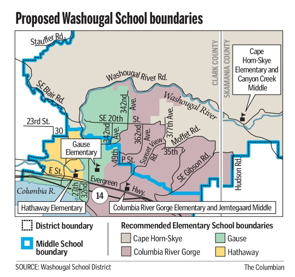 Washougal redraws its school boundaries the columbian the washougal school district will have new boundaries starting next school year pooptronica Image collections