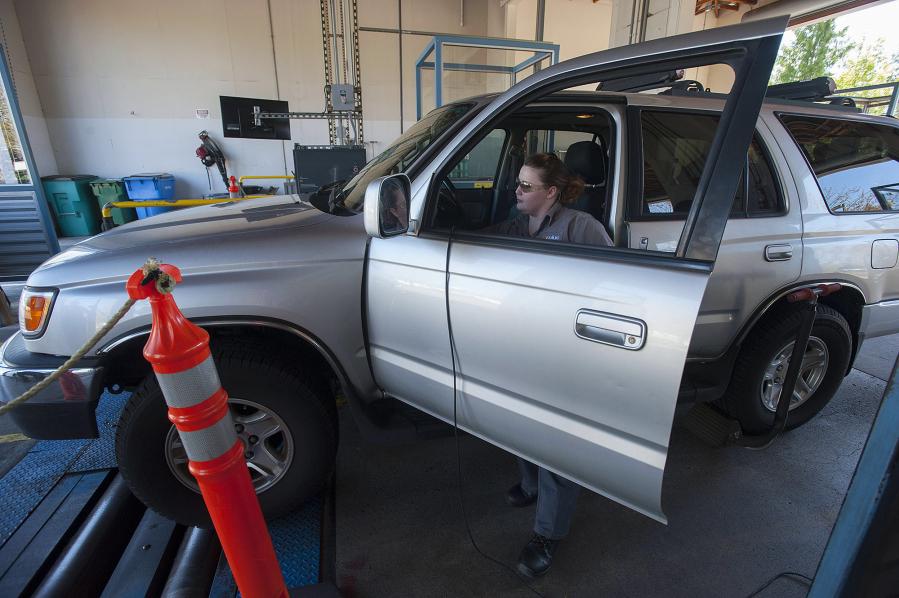 Washington state motor vehicle emission inspection for Motor vehicle emissions test