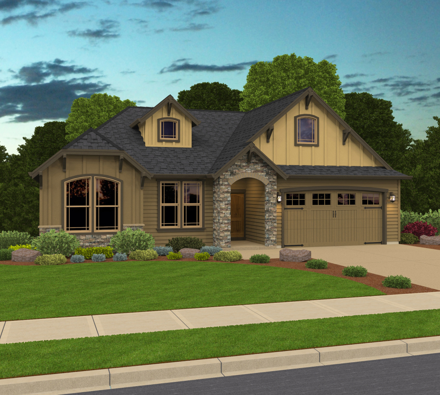 Developer building homes around giving in clark county for 2000 sq ft home