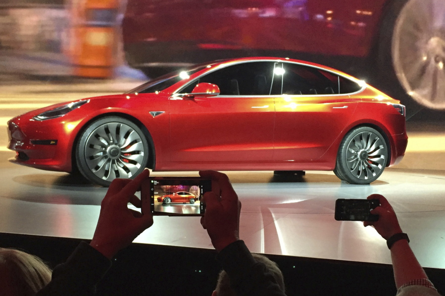First Tesla Model 3 to be built Friday | The Columbian