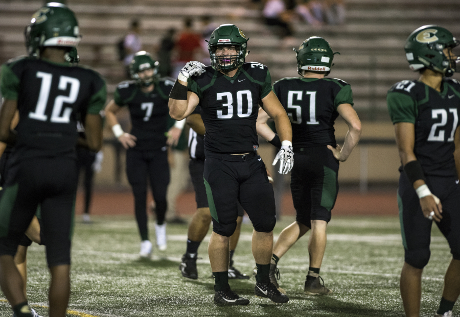 Ex Gymnast Rusnak Is An Imposing Rookie For Evergreen Football Team