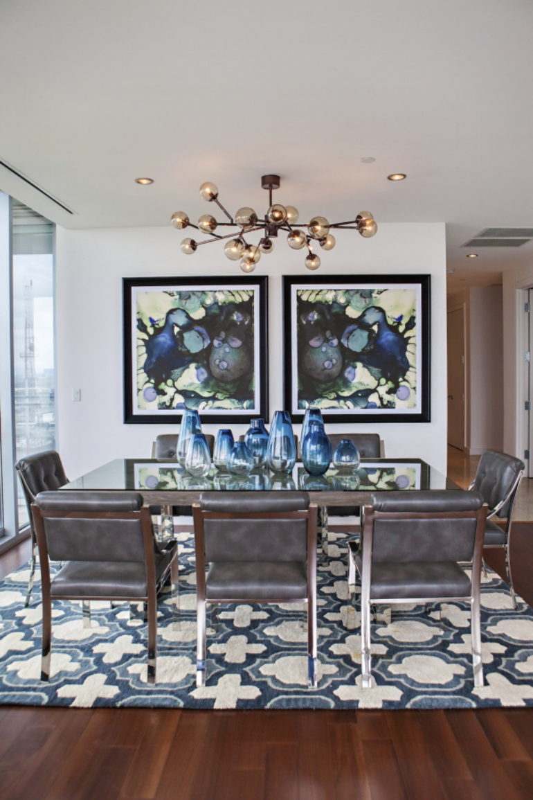 Comfort Is Just As Important As Beauty When Choosing Dining Room Seating,  Says Fenimore, Founder Of The Design Firm Studio Ten 25, Who Chose Sleek  But ...