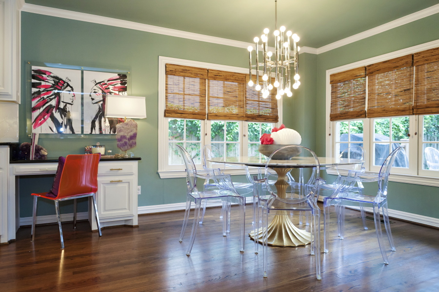 This Undated Photo Provided By Designer Abbe Fenimore Shows A Dining Room  Designed Fenimore. Itu0027s Become Common For Dining Spaces To Have Multiple  Uses, ...