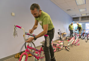 The 18th annual Vancouver Bike Build, sponsored in part by Waste Connections, was able to build 605