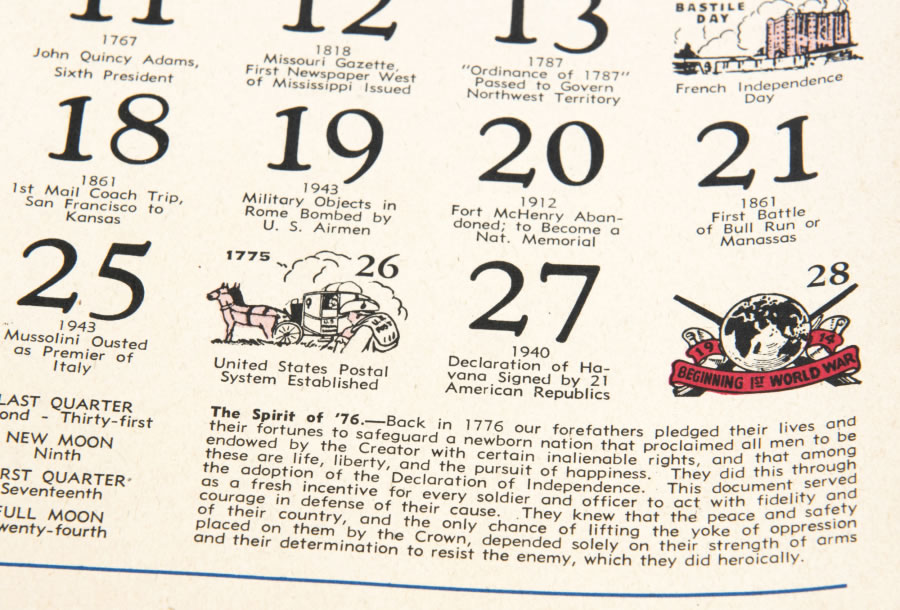 Old calendars work just fine in new year | The Columbian