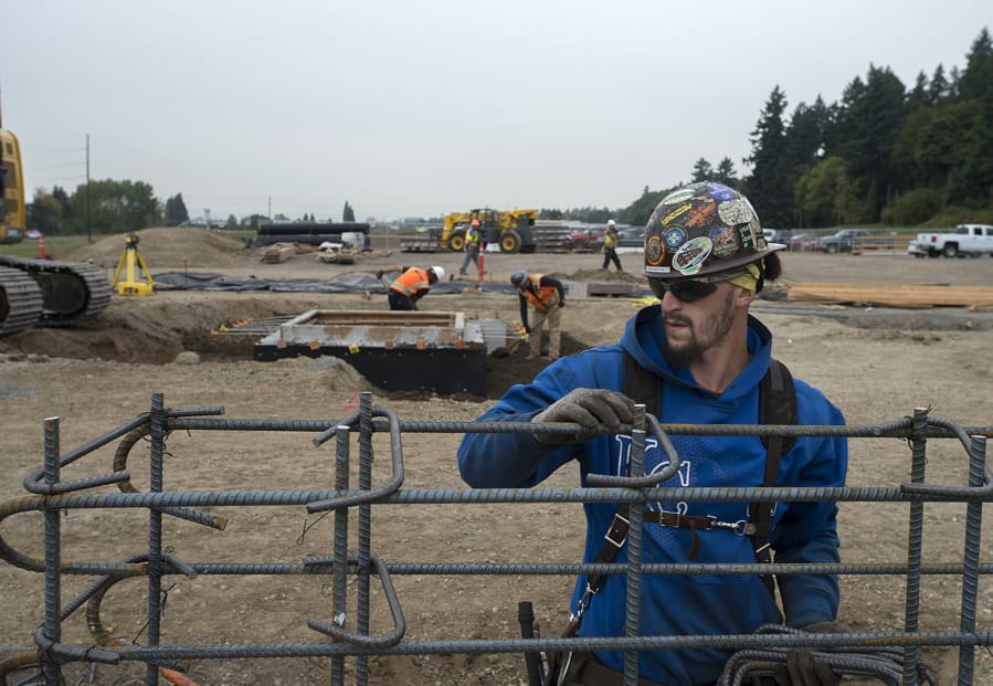 C.J. Barton Lends A Hand With Construction Of The New Quad Industrial Park  In October. Construction Jobs, And Many Other Labor Professions, Are Among  The ...