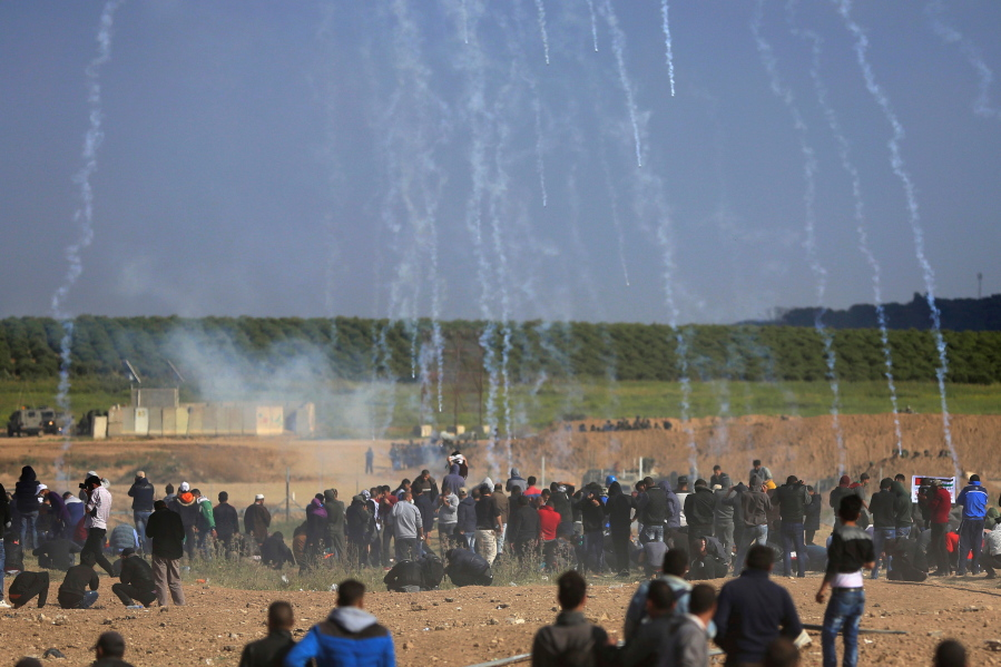 Palestinian killed by Israeli strike ahead of Gaza protest