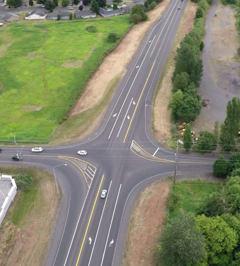 Amid Concerns Two Roundabouts Planned For Highway 14 The Columbian