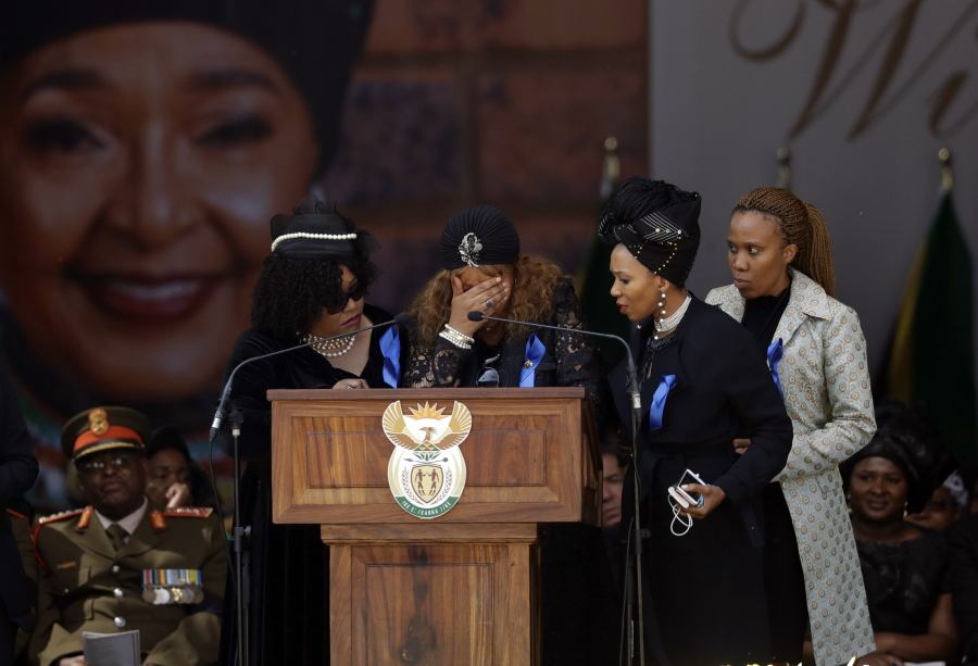 Zenani Mandela lashes out against lies told about her mother