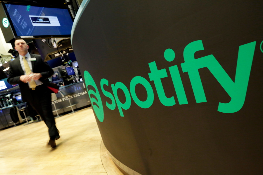 Spotify's stock market debut strikes a chord