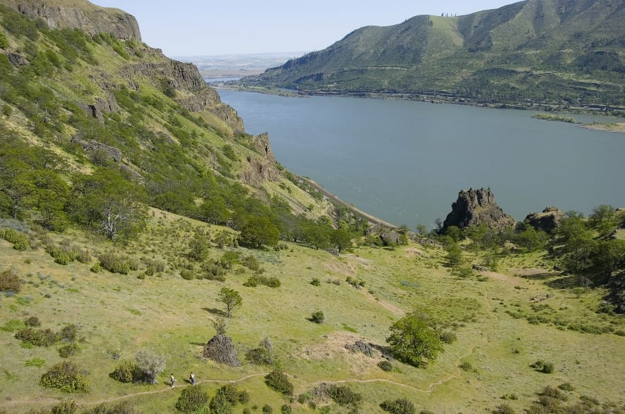 Hike the washington side of the columbia river gorge the columbian the stunning lyle cherry orchard trail is one of the lesser known gorge adventures youd be wise to try this year the columbian files publicscrutiny Image collections