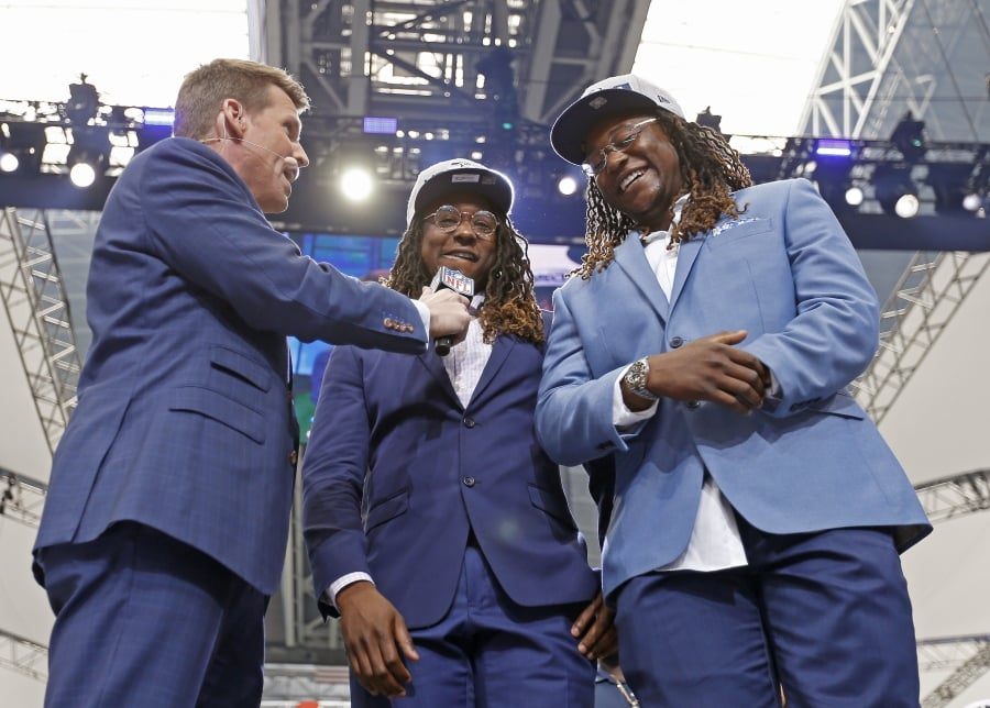 Griffin steals show, but Seahawks show commitment in draft