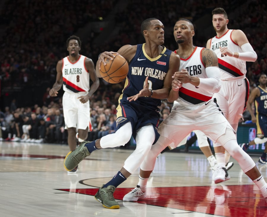 The Pelicans putting up fantastic numbers against the Blazers