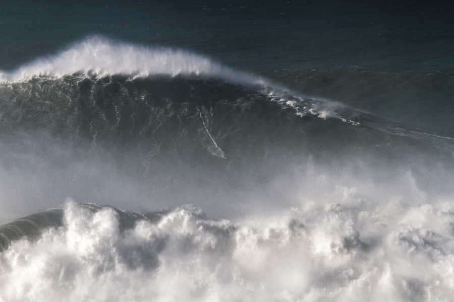 Brazilian surfer rides record-breaking 80-foot wave