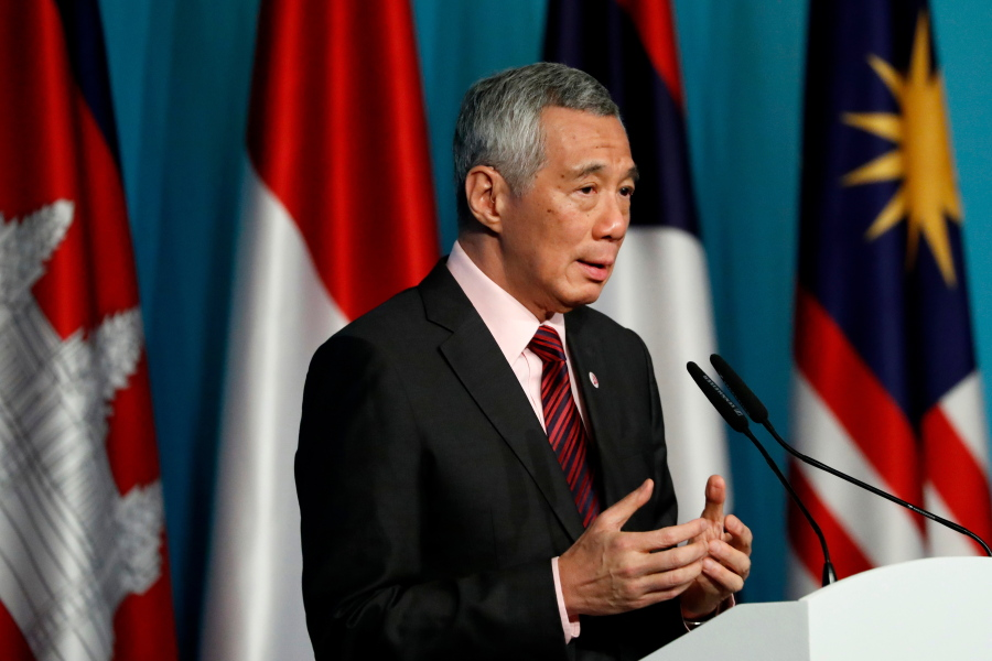 ASEAN growing closer to China and India, Singapore PM says
