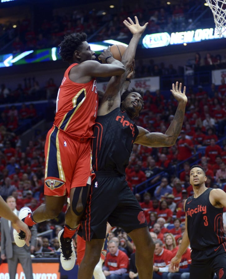 Brooms out: Pelicans sweep Portland, 1st playoff series win in a decade