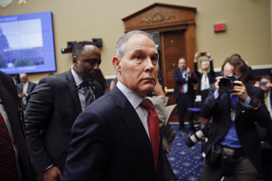 EPA inspector general opens investigation of Pruitt's use of multiple email accounts