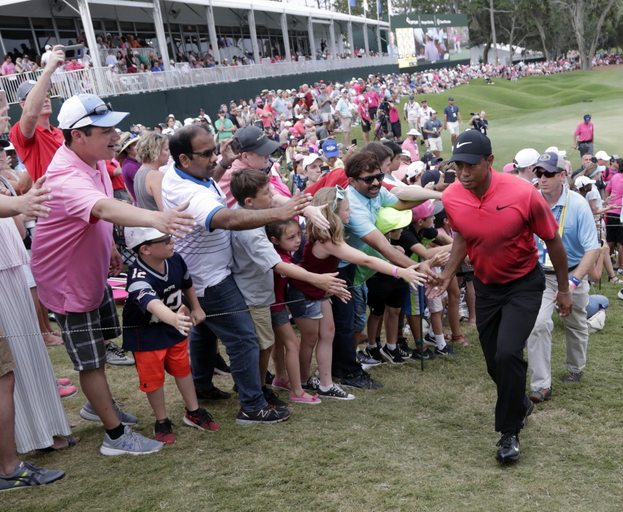 Tiger Woods declares himself ready to win again