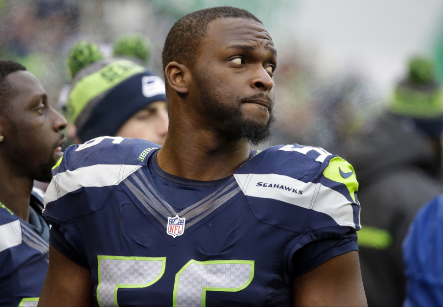 Seahawks veteran Cliff Avril released by team after failing physical