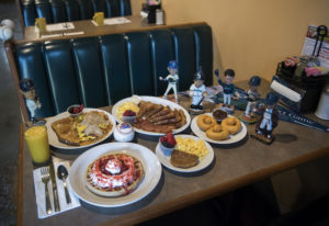 The offerings at Linda's Homeplate include the half order of Linda's Hash, from left clockwise, the