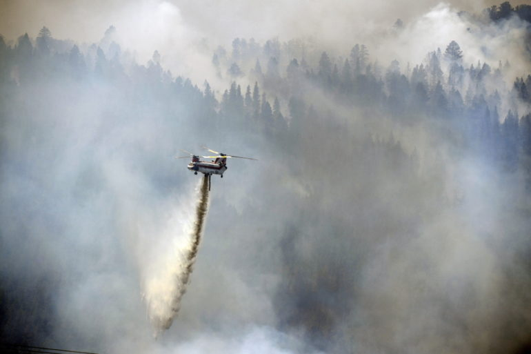 Crews Gain Ground On Oregon California Wildfire