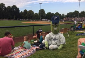 The Portland Pickles, shown here, offer a family-friendly baseball experience that hopefully will be