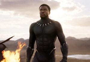 "Chadwick Boseman in a scene from ""Black Panther."" Marvel Studios/Disney"