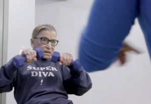 """A scene from """"RBG,"""" a documentary about the life of Supreme Court Justice Ruth Bader Ginsburg. Magno"""