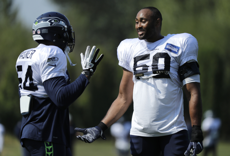 Seahawks LB K.J. Wright could miss Week 1 with knee injury