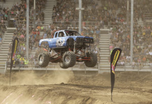 Monster Trucks with sky-high suspensions tend to fly off the ground — and then hit it again, hard. T