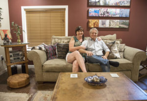 Andi and Kevin Crockford of Washougal purchased and remodeled a home on the Washougal River. They re